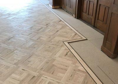 Oude Raadzaal Noordwijk – Patroonvloer